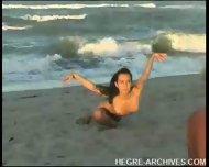 Nude Beach Yoga by Anahi Flores - scene 12