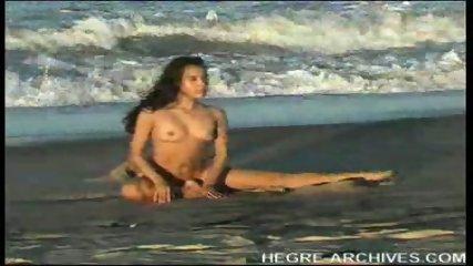 Nude Beach Yoga by Anahi Flores - scene 5