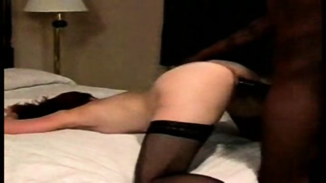 HORNY redhead gets fucked by a black dude (2/2)