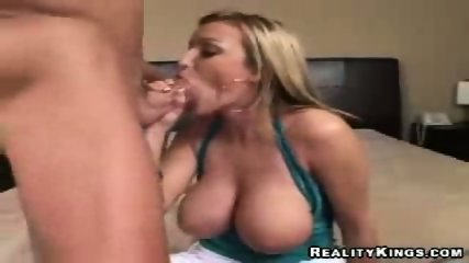Big Natural Breasted Blonde - scene 8