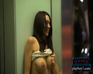 Horny Mature Couple Having Quickie Sex In A Public Elevator