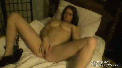 Busty Amateur girl fucks her boyfriend - scene 7