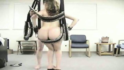 Horny Couple Use Sex Swing - scene 8