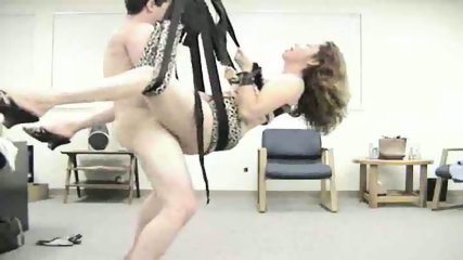 Horny Couple Use Sex Swing - scene 10