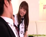 Busty Japanese Babe Anri Sonozaki Cocksucking