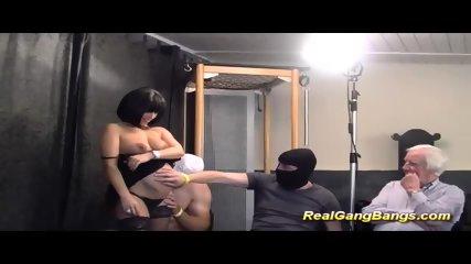 Prego Teen In Her First Gangbang - scene 1
