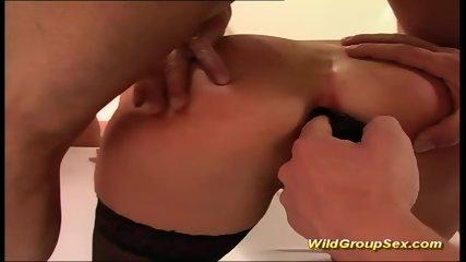 Extreme Anal Gangbang Teen Orgy - scene 8
