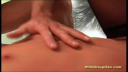 Extreme Anal Gangbang Teen Orgy - scene 7