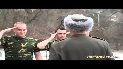 Military Lady Gets Soldiers Cum - scene 2