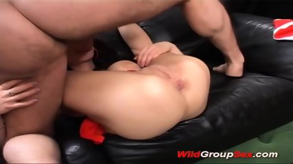 Flexi German Teen Gangbang - scene 2