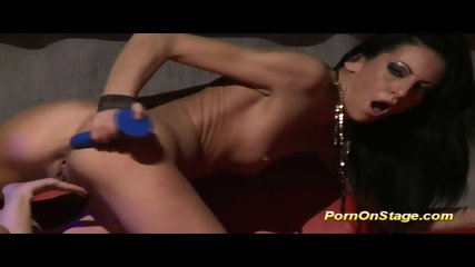 Extreme Hot Lesbian Babes On Stage - scene 11
