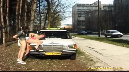Taxi Driver Break For Anal Fuck - scene 11