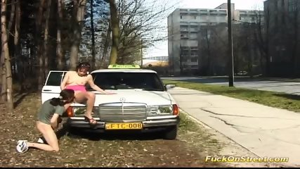 Taxi Driver Break For Anal Fuck - scene 4