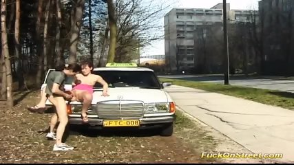 Taxi Driver Break For Anal Fuck - scene 5