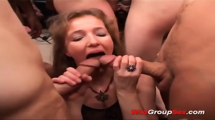 Black Ass In Wild Gangbang