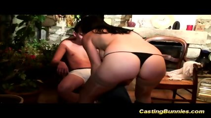 Busty French Anal Casting - scene 6