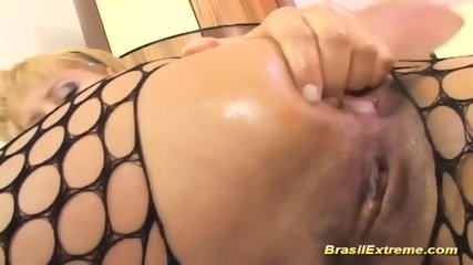 Brazilian Babes Anal Fisting - scene 2
