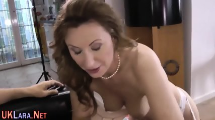 Mature brit jerks for cum - scene 11