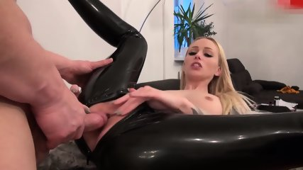 Fucked in Black Latex - scene 8