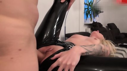 Fucked in Black Latex - scene 6