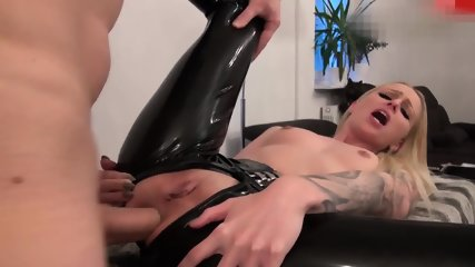 Fucked in Black Latex - scene 7