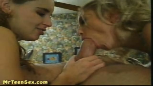 Two Hot Teens Suck and Fuck