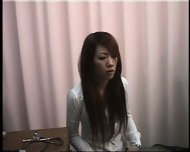 Girl climaxes during gynecological Examination - scene 1