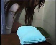 Girl climaxes during gynecological Examination - scene 12