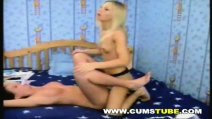 Lesbians Fucking With A Strap On - scene 5