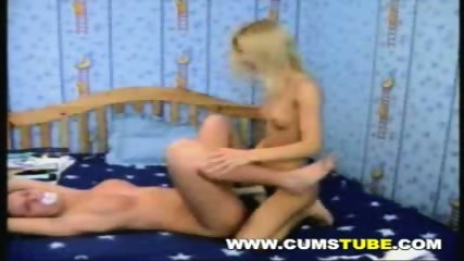 Lesbians Fucking With A Strap On - scene 7