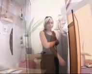 Gyno Clinic- Examination of a Cech girl- CAROL - scene 2