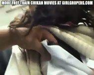 Groped in Train - scene 9