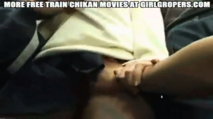 Groped in Train - scene 7