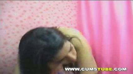 Very Hot Brunette Teen On Her Webcam. - scene 1