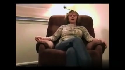 Blonde Mom On Armchair - scene 1