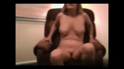 Blonde Mom On Armchair - scene 3