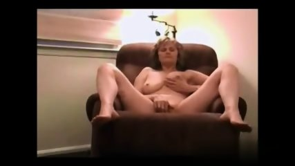 Blonde Mom On Armchair - scene 5