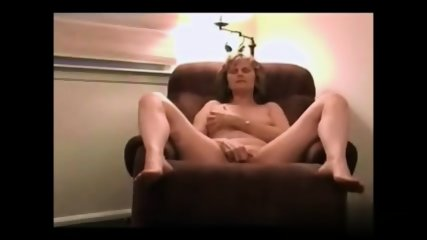 Blonde Mom On Armchair - scene 7