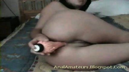 Anal Lust With My Dildo XXX