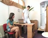 Gyno Clinic- Examination of a Czech girl - scene 1