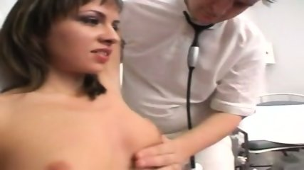 Gyno Clinic- Examination of a Czech girl - scene 6