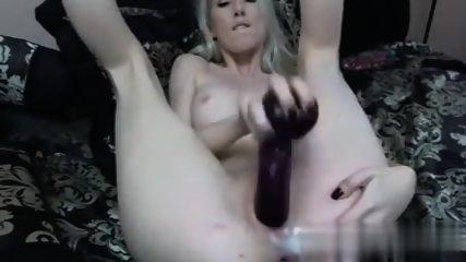 Nice blonde cream pussy
