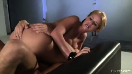 Madison James gets a big dick - scene 9