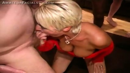 Jade gulps loads of sticky cum