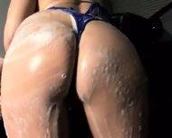 wet soapy and sexy kiesha - scene 3