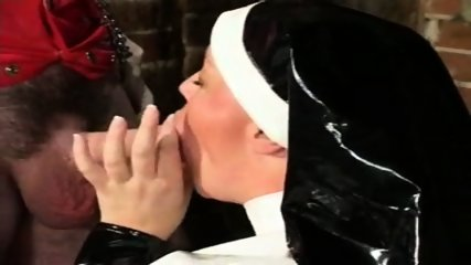Chubby Latex Nun - scene 5