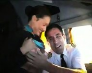 Naughty flight attendant - scene 9