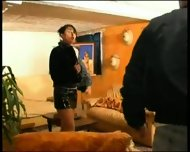 2 couples party it up - scene 2