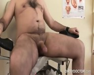 Docter Give Teen Cock Treatment