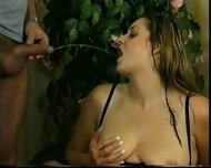 Piss: Fat German Slut Daniela 2 - scene 9